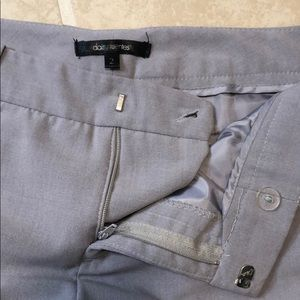 Daisy Fuentes Cropped Pant Gray Size 2